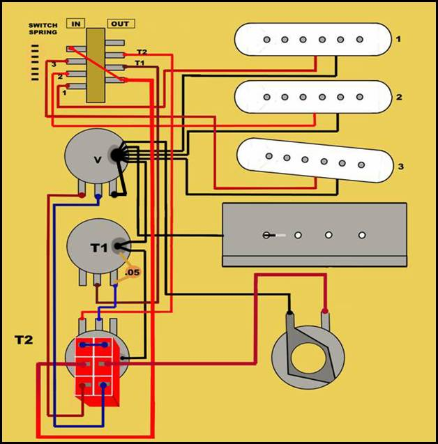 Fender Stratocaster Guitar Pickups Wiring Diagram Book