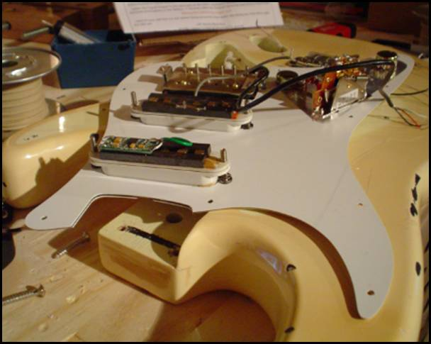 Fender Strat Stratocaster Guitar Wiring Harness Loaded Pickguard ...