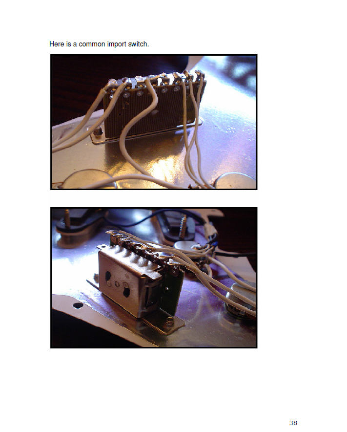 fender telecaster squire guitar electronics wiring